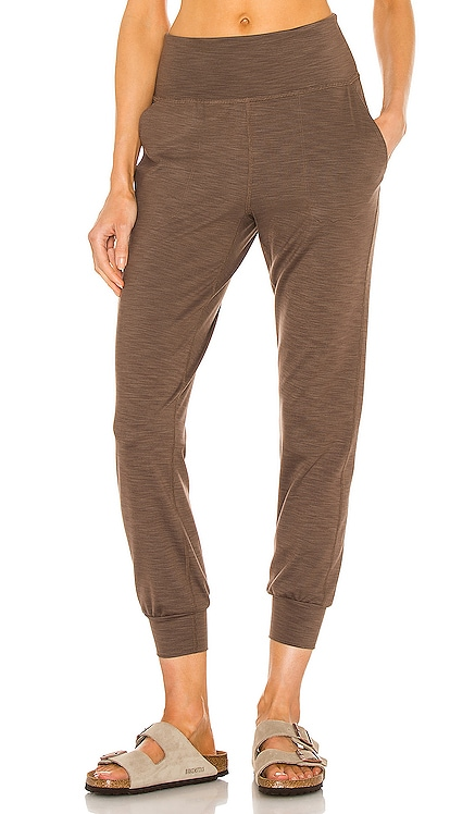 Heather Rib Midi Jogger Beyond Yoga $110