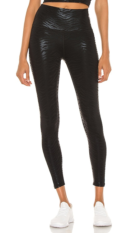 High Waisted Midi Legging Beyond Yoga $99 NEW