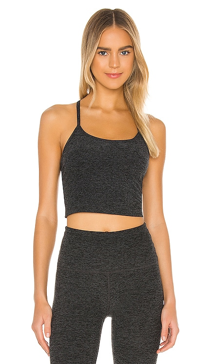 Spacedye Slim Racerback Cropped Tank Beyond Yoga $66 BEST SELLER
