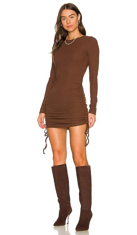 Long Sleeve Drawstring Dress BCBGeneration $78 NEW
