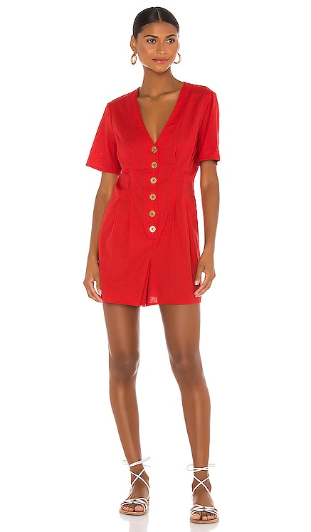 Button Front Romper BCBGeneration $88