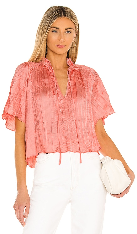 Crinkle Satin Blouse BCBGeneration $88