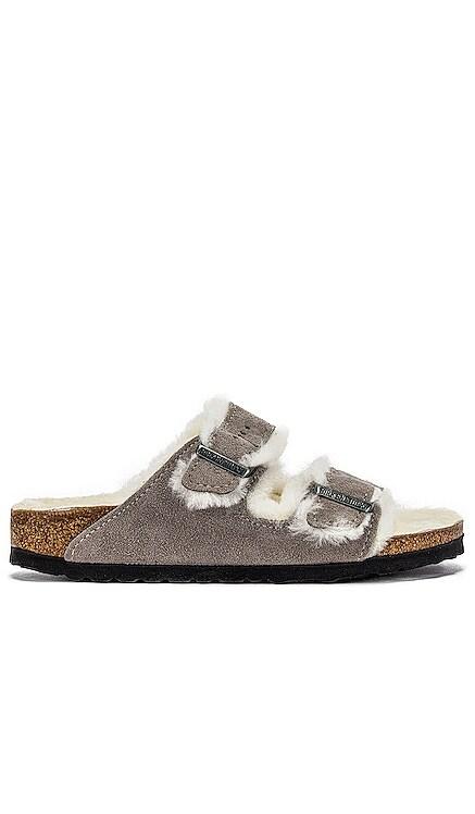 Arizona Shearling Sandal BIRKENSTOCK $150 NEW