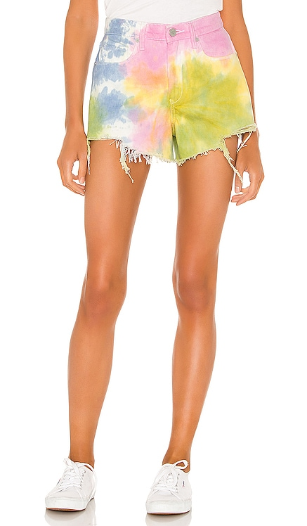 Pastel Tie Dye Barrow High Rise Denim Short BLANKNYC $88 BEST SELLER