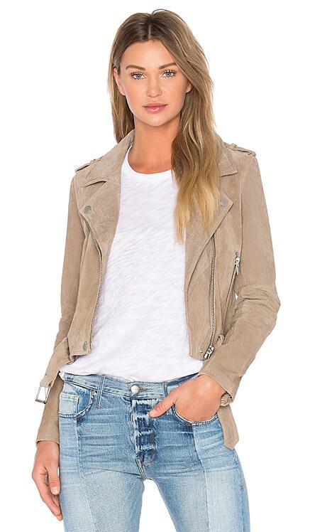 Suede Moto Jacket BLANKNYC $185