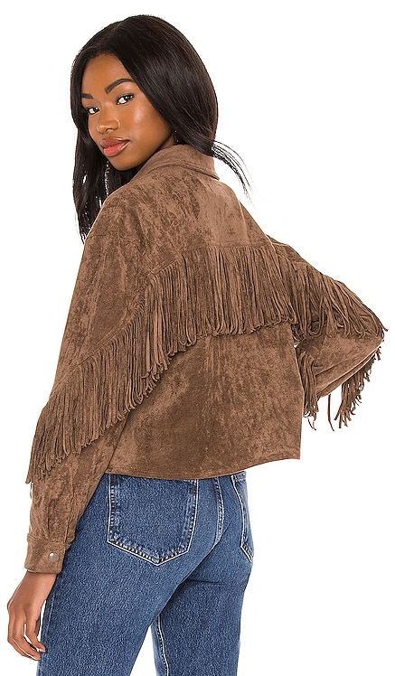 Fringe Shacket BLANKNYC $128