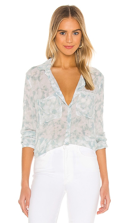 Full Button Down Hipster Shirt Bella Dahl $136 BEST SELLER