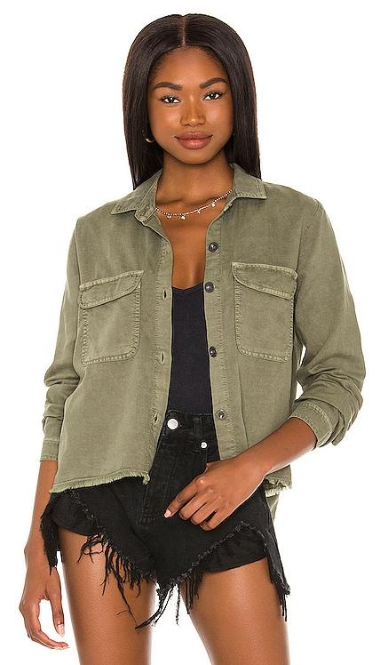 Fray Hem Shirt Bella Dahl $152 NEW