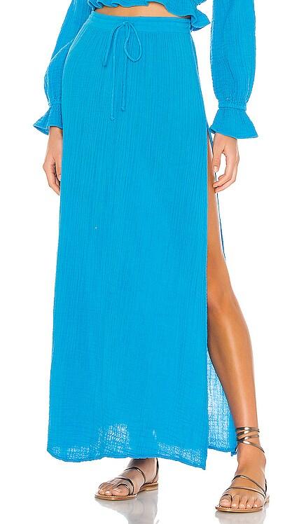 Palmas Skirt Blue Life $121 BEST SELLER