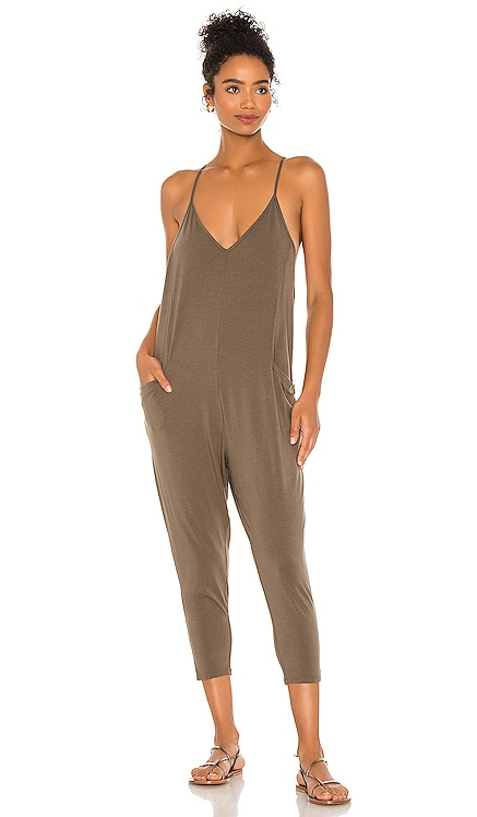 Draped Modal Jersey Jumpsuit Bobi $92 BEST SELLER