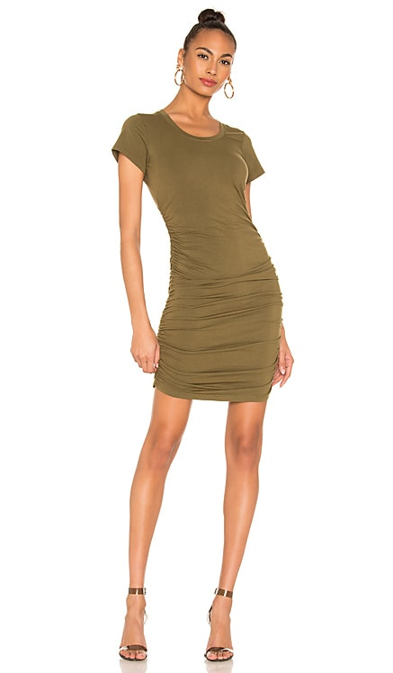 Draped Jersey Ruched Dress Bobi $31