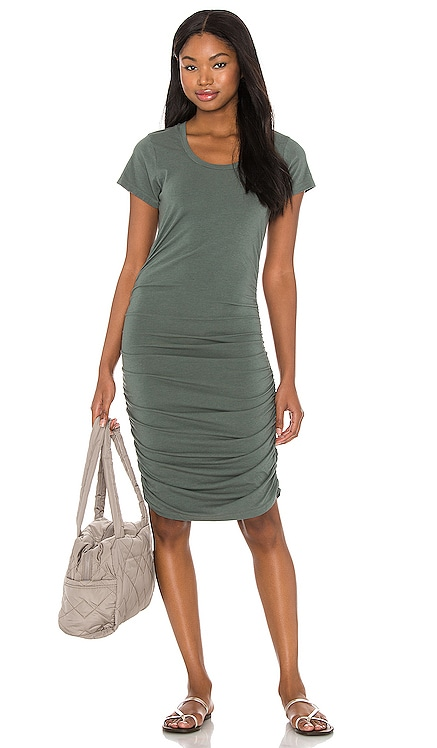 Draped Modal Jersey Dress Bobi $70 BEST SELLER