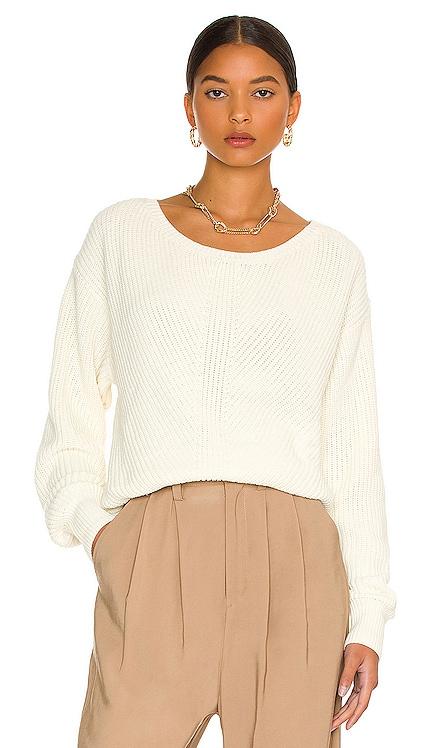 BLACK Cozy Cotton Sweater Bobi $165 NEW