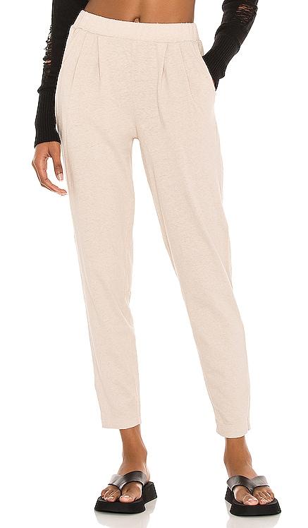 Sustainable Cotton Linen Pants Bobi $79
