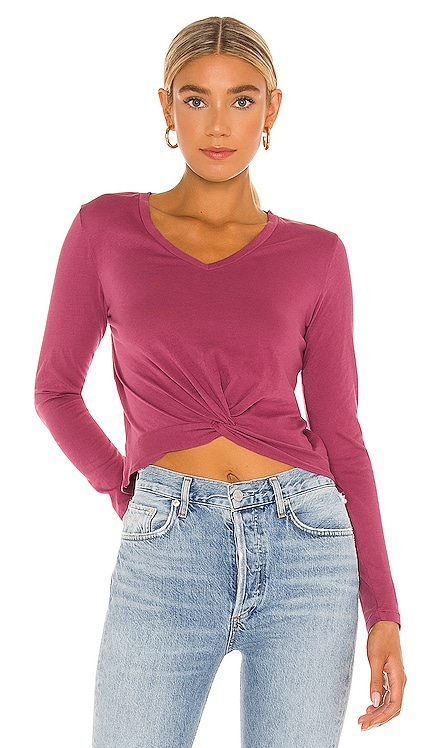 Light Weight Jersey Top Bobi $36