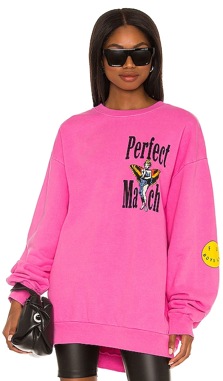 Perfect Match Sweatshirt Boys Lie $115 NEW