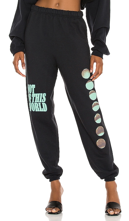 Not of This World Cropped Sweatpants Boys Lie $95 NEW