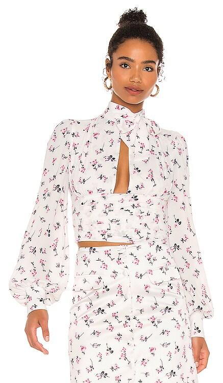 Floral Blouse BROGNANO $475 NEW