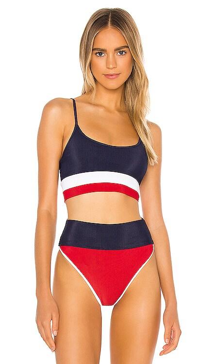 Eva Bikini Top BEACH RIOT $92 NEW