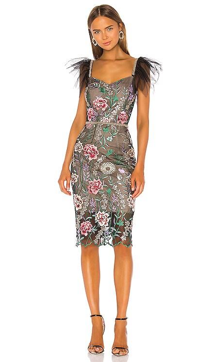 Melia Midi Dress Bronx and Banco $232
