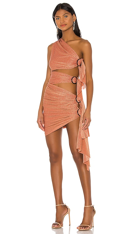 X REVOLVE Gaia Mini Dress Bronx and Banco $380 BEST SELLER
