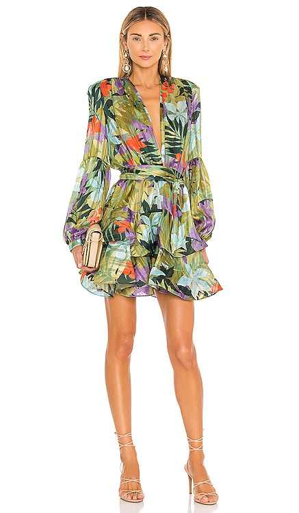Tropics Mini Dress Bronx and Banco $575 NEW