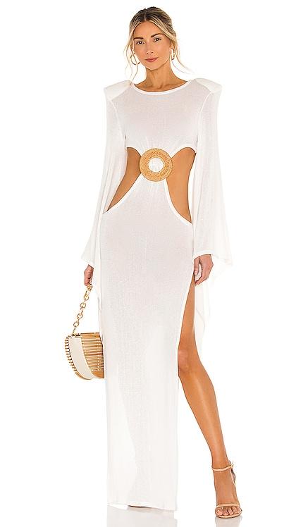 Dalia Kimono Knit Dress Bronx and Banco $550 NEW