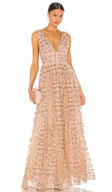 Megan Maxi Dress Bronx and Banco $625 BEST SELLER