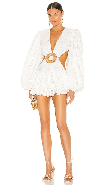 X REVOLVE Lila Mini Dress Bronx and Banco $550 NEW