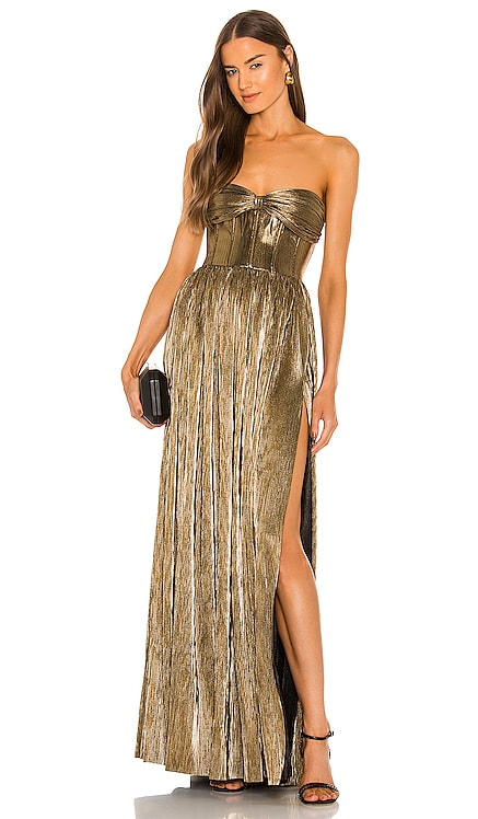 Florence Strapless Gown Bronx and Banco $750 BEST SELLER