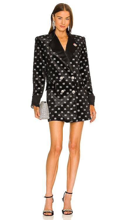 Bronx Velvet Blazer Dress Bronx and Banco $750 NEW
