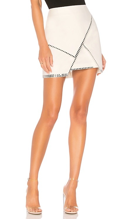 Carly Studded Mini Skirt superdown $56
