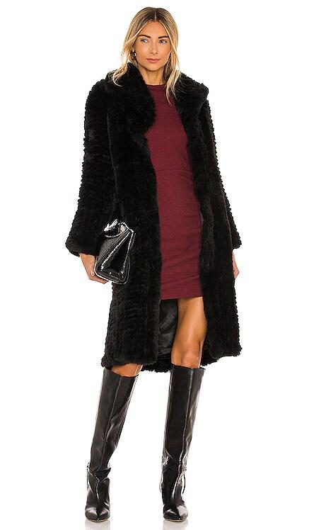 Oxford Faux Fur Coat Bubish $329 BEST SELLER