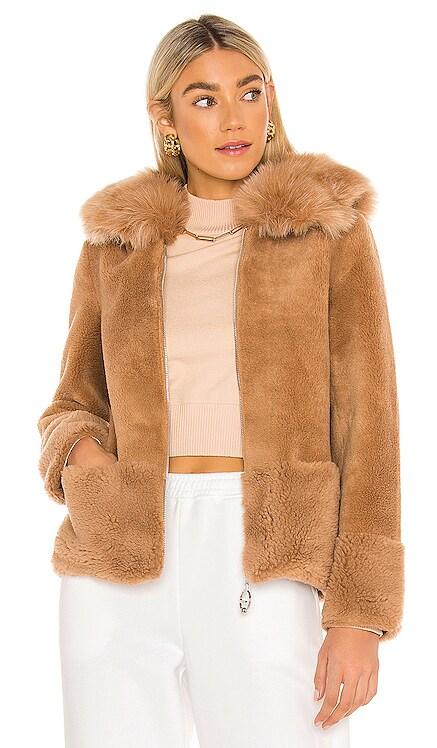 Maya Faux Fur Jacket Bubish $335