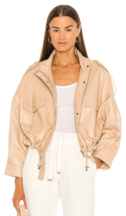 Savannah Leather Jacket Bubish $599