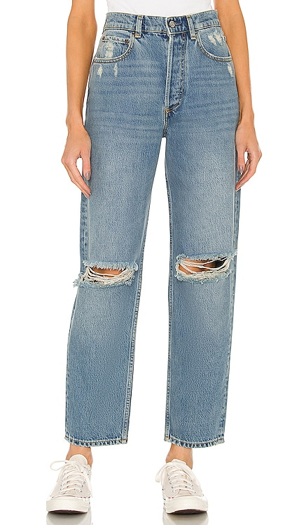 Toby High Rise Relaxed Tapered Boyish $168 NUEVO