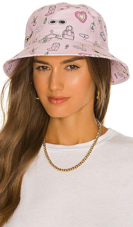 x Esther Bunny Bucket Hat By Samii Ryan $36 NEW