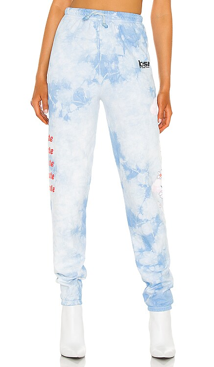 Felt Cute Cloud Tie Dye Sweatpants By Samii Ryan $68 NEW