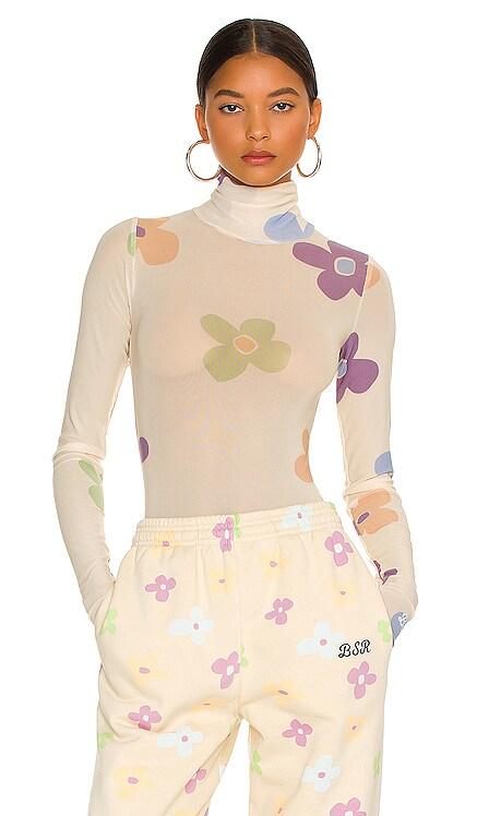 Meadow Mesh Bodysuit By Samii Ryan $70 NEW