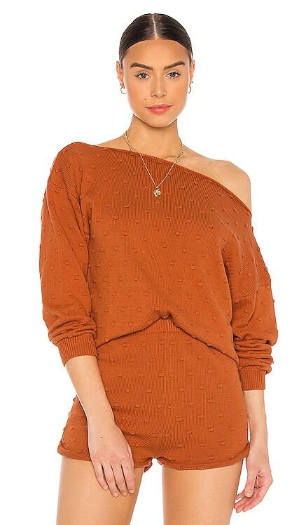 Jaime Off The Shoulder Sweater Callahan $128 NEW