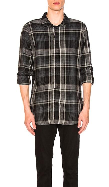 Brushed Plaid Woven Shirt Calvin Klein $34