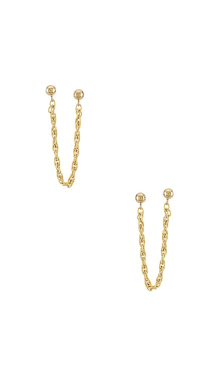 Single Twisted Earring CAM $33