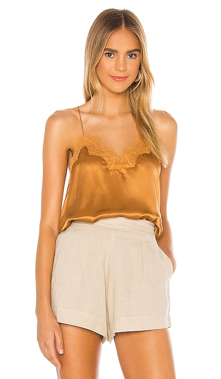 The Racer Charmeuse Cami CAMI NYC $161 NEW