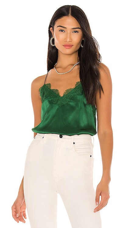 The Racer Charmeuse Cami CAMI NYC $161 BEST SELLER