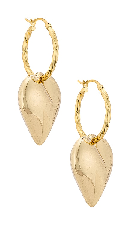 Lover Drop Earrings Casa Clara $52 NEW