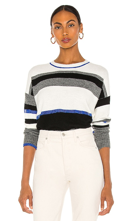 Broad Crewneck Sweater Central Park West $150 NEW