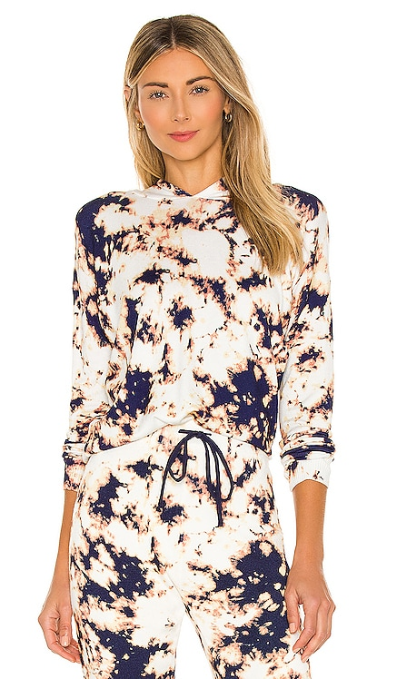 Amber Bleach Hoodie Central Park West $152 NEW