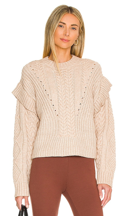 Myles Cable Sweater Central Park West $152 NEW