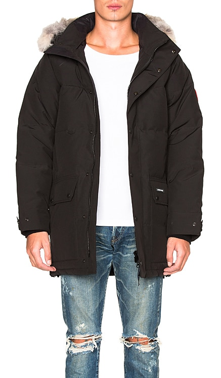 Emory Parka with Coyote Fur Canada Goose $1,050