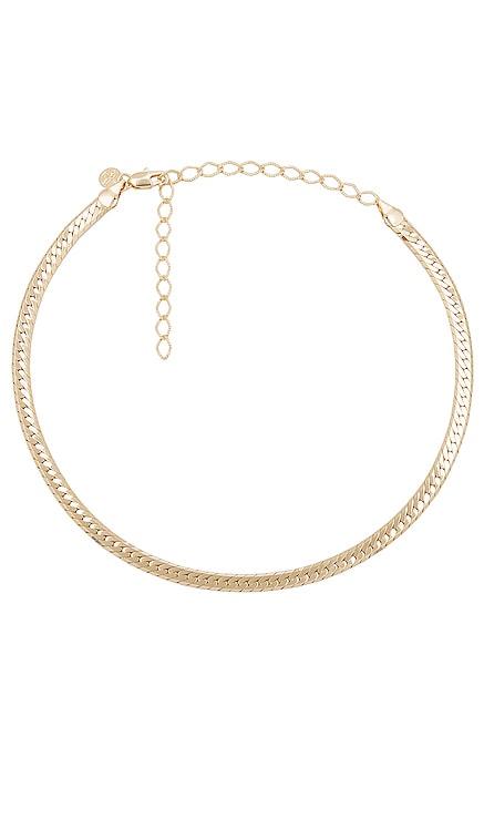Sicily Herringbone Necklace Child of Wild $78 BEST SELLER